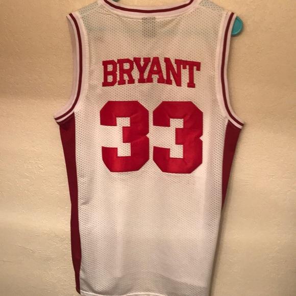 "1302d270f52 Kobe Bryant ""Lower Merion"" High School Jersey. M 5ad560123afbbdb28f8b3cb8"